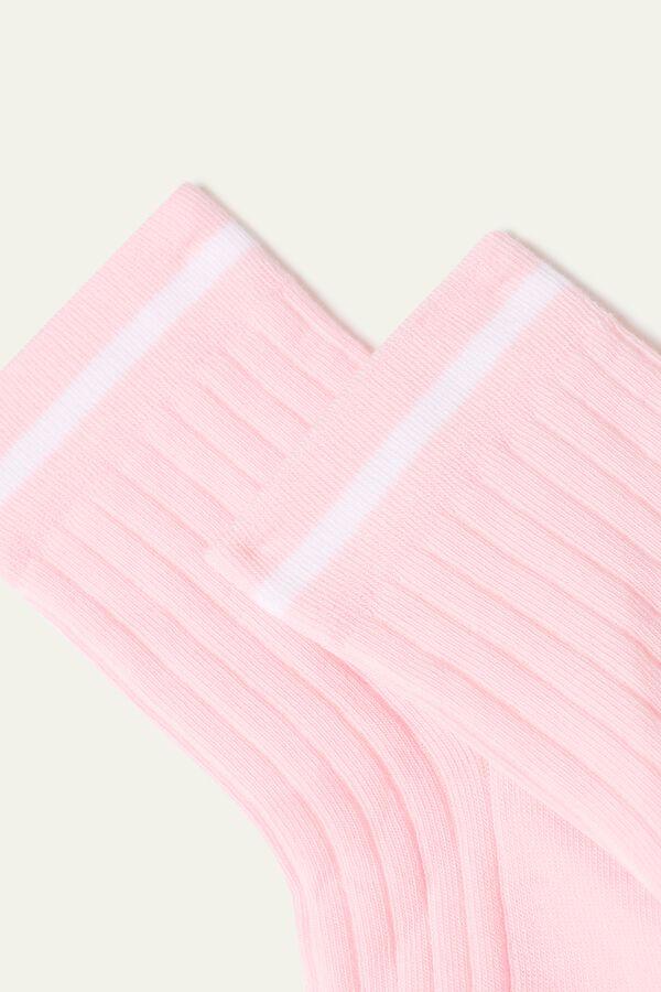 Socquettes Courtes Coton Imprimées