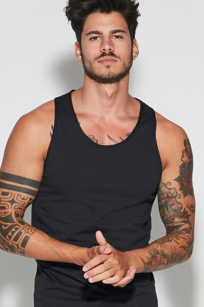 Cotton-Jersey Vest Top