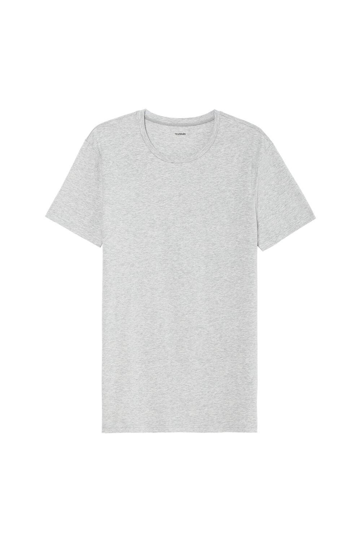 Elastické Bavlnené Tričko