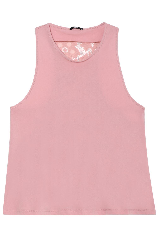 Lace-Back Vest Top