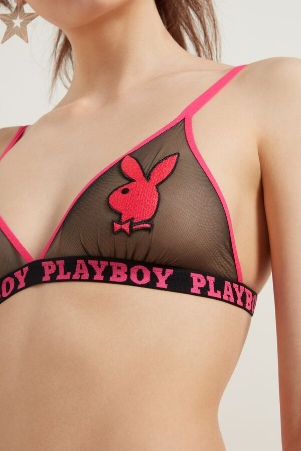 Lisbon Playboy Triangle Bralette