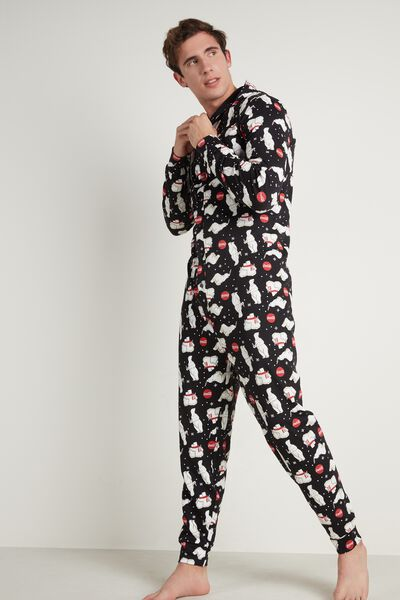 Cotton Coca Cola Onesie Pajamas