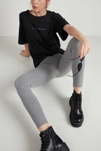 Thermo-Leggings aus Baumwolle