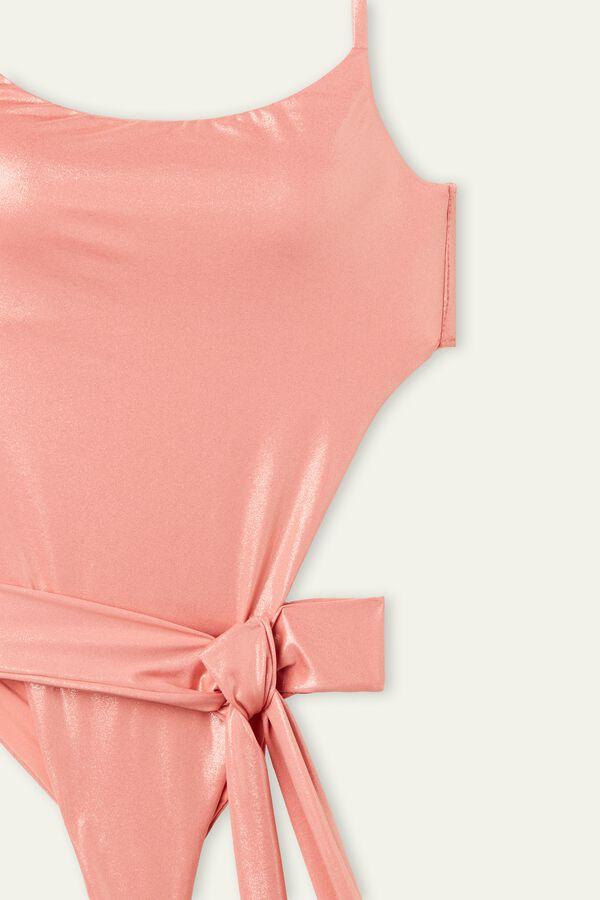 Bañador Entero Shiny Nude