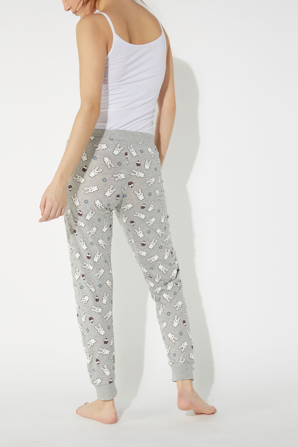 Long Printed Pants