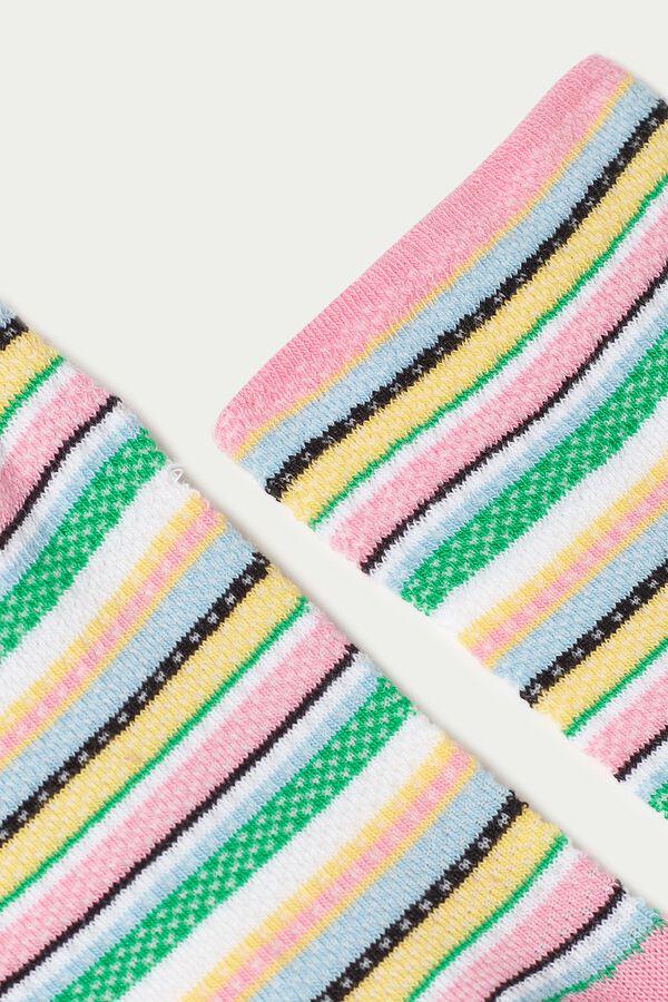 Calcetines Cortos Algodón Estampados