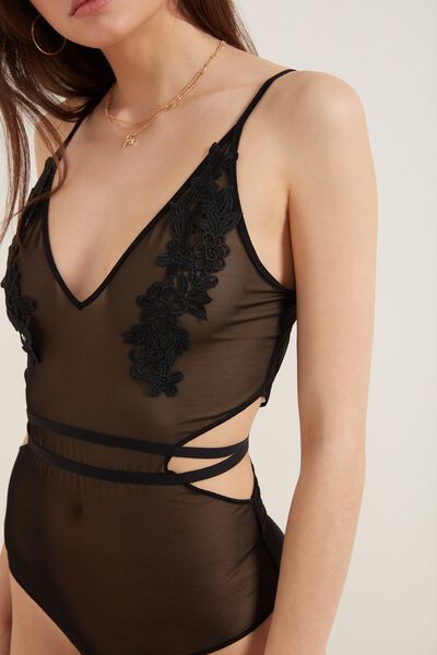 Dark Romance Patch Bodysuit