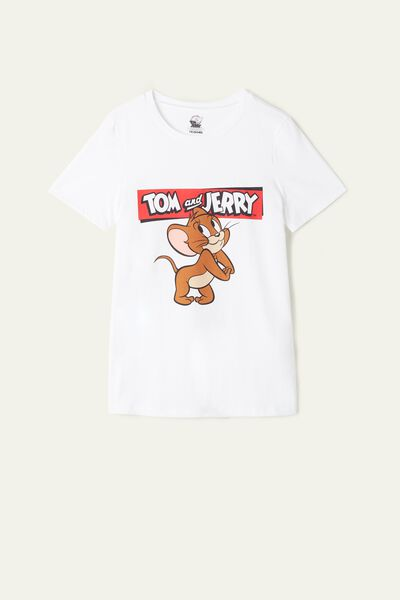 T-Shirt aus Baumwolle Tom and Jerry