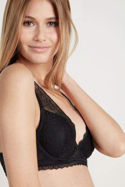 Malibù Super Push-Up Lace Bra