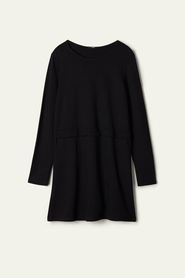 Basic Milano-Stitch Dress
