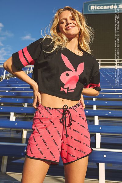 Playboy Fleece Shorts