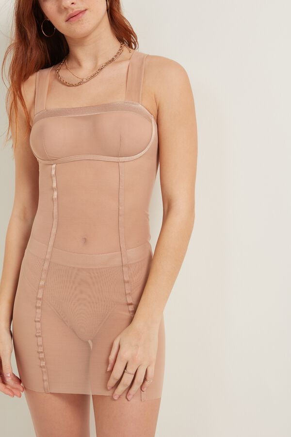 Invisible Mesh Tulle Slip