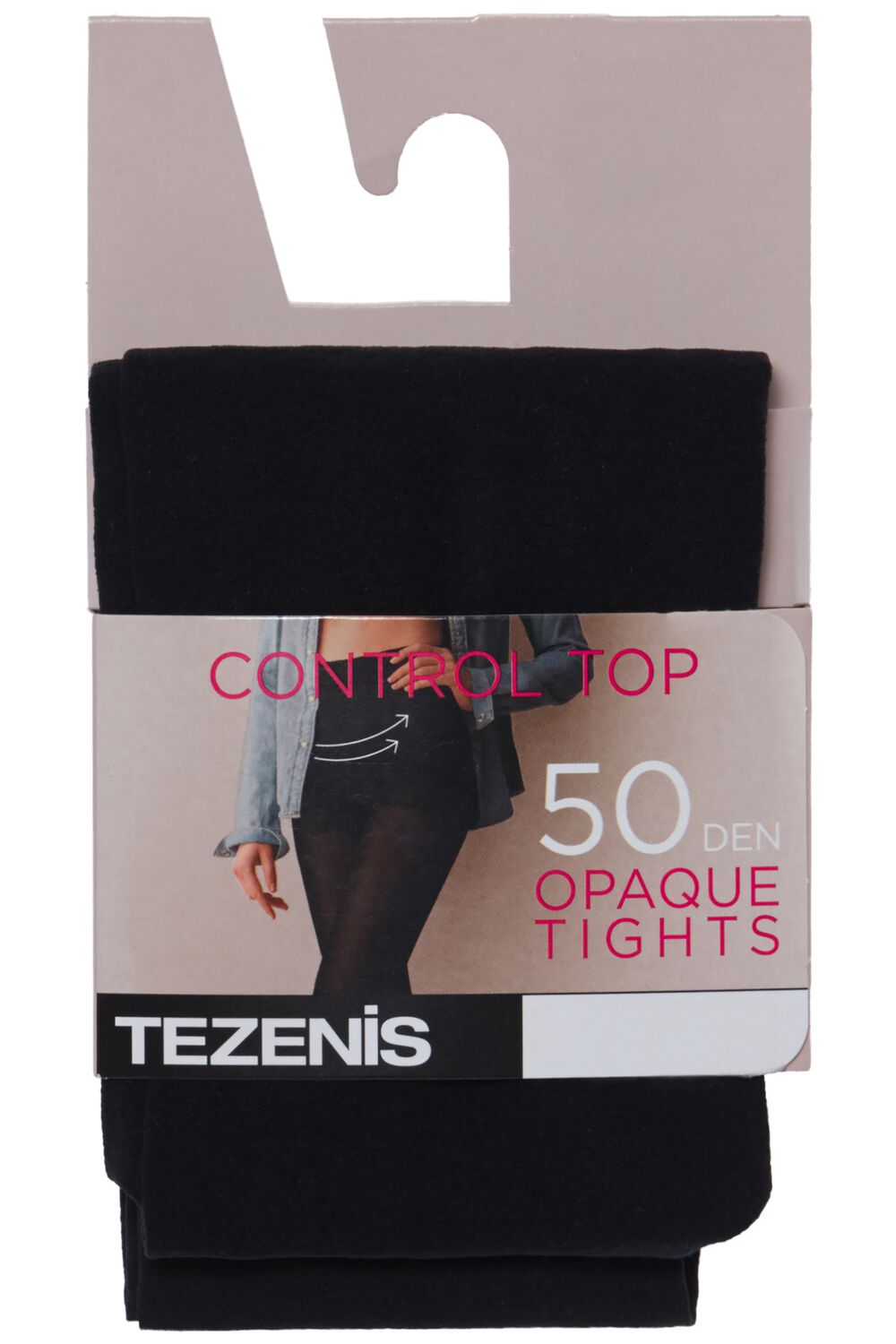 50 Den Opaque Control Tights