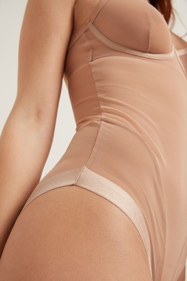 Body Tule Invisible Mesh