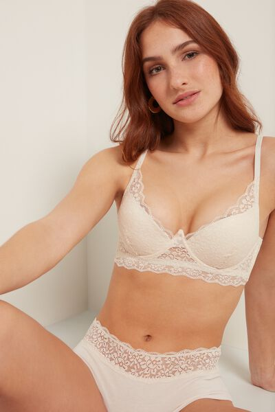 Malibu Recycled Lace Super Push-Up Bra