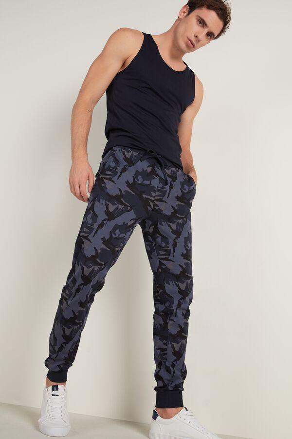 Basic Long Heavy Cotton Trousers