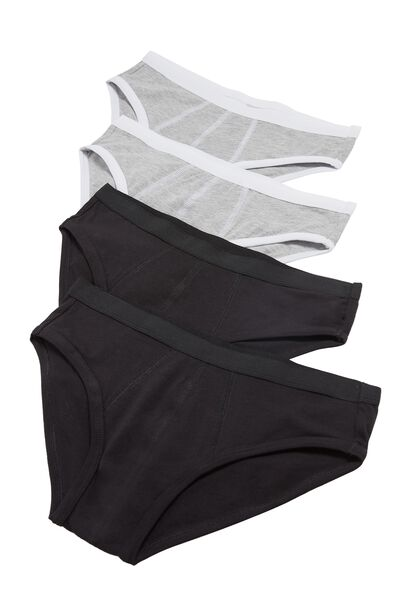 4 X Stretch Cotton Briefs