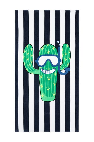 Terry Cotton Beach Towel