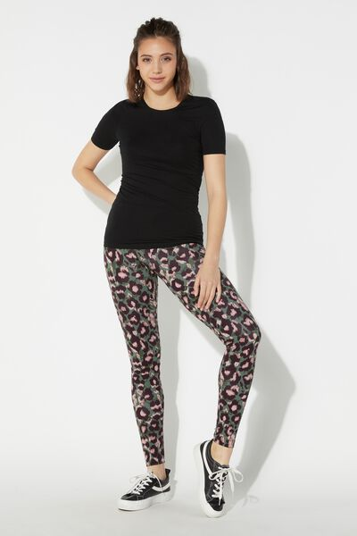 Leggings de Algodón Estampado