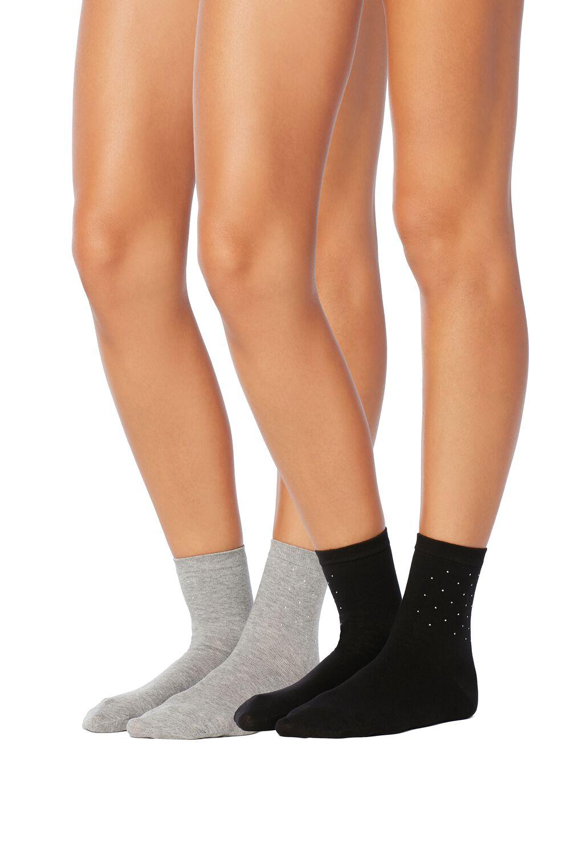 2er-Pack Socken Applikationen