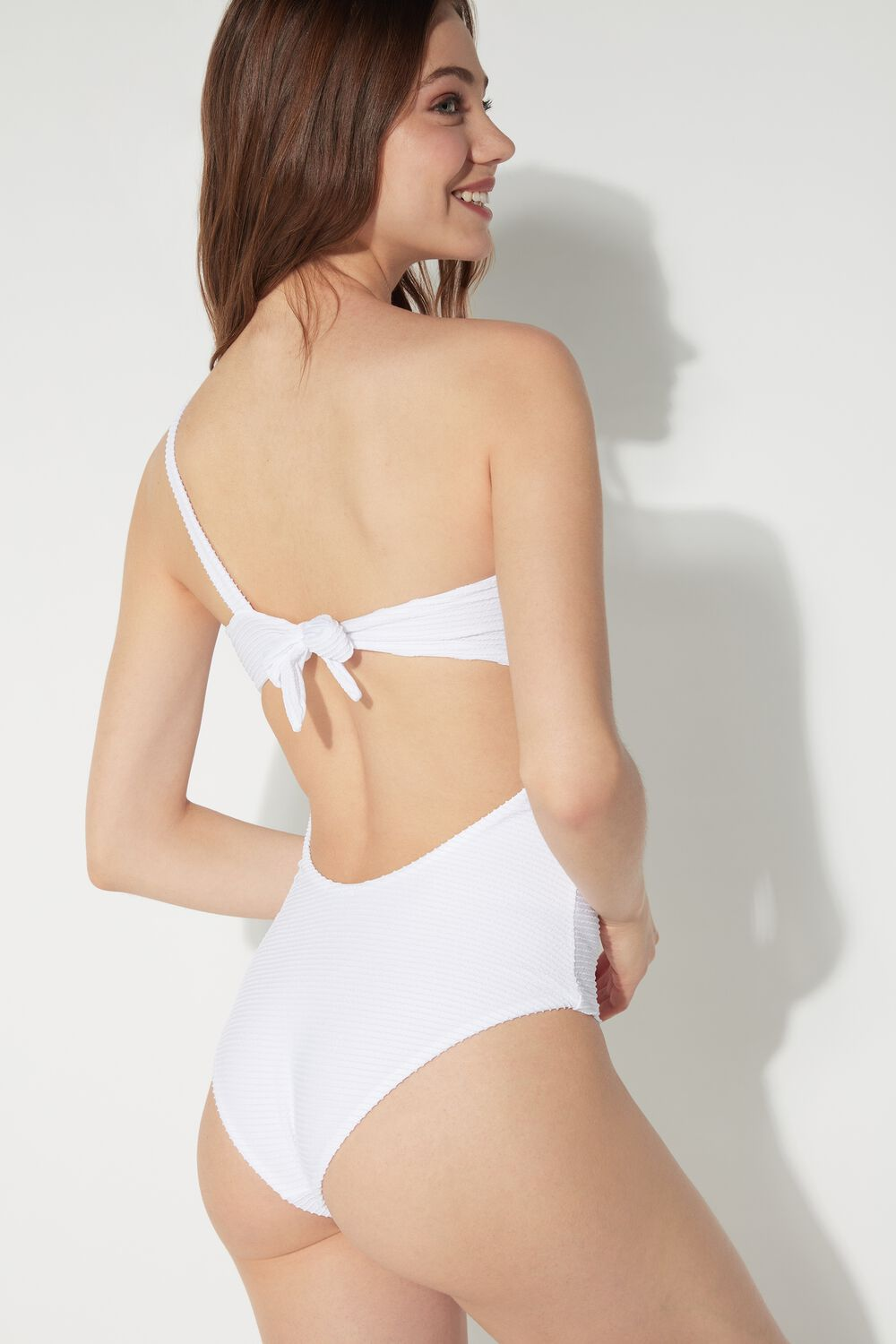 Waves Braided One-piece Swimsuit