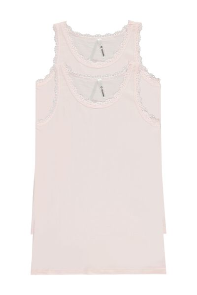 2 X Basic Lace Camisole Multipack