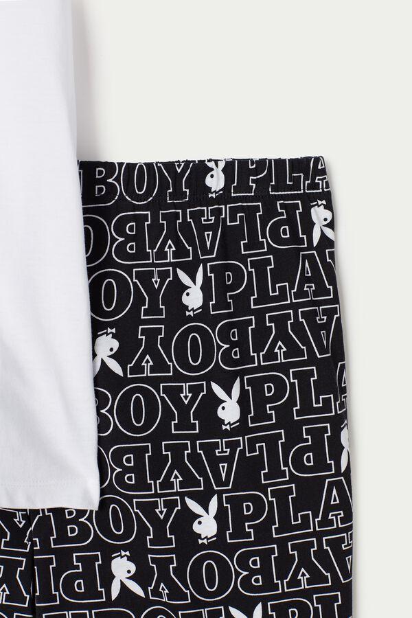 Men's Short Playboy Pyjamas