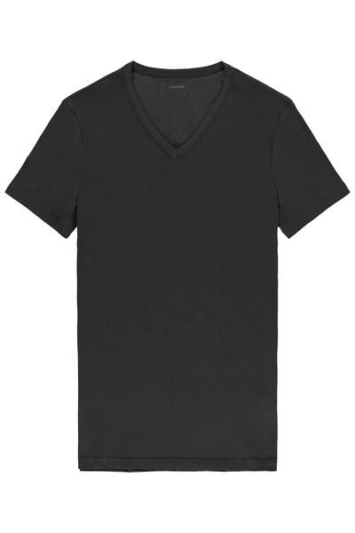 Camiseta Manga Corta Escote V Jersey Algodón