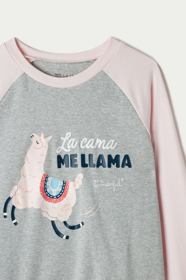 Mr. Wonderful Long Sleeve Cotton Top