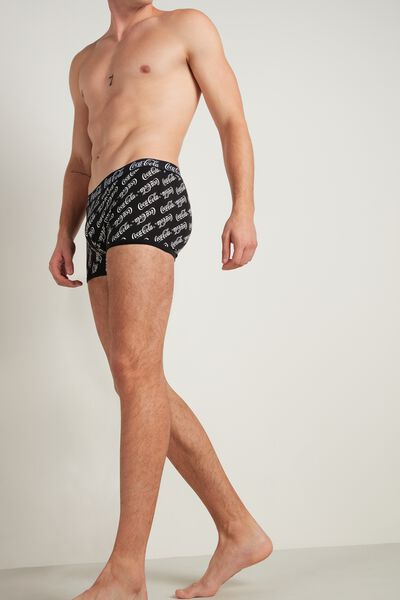 Coca Cola Print Cotton Boxers