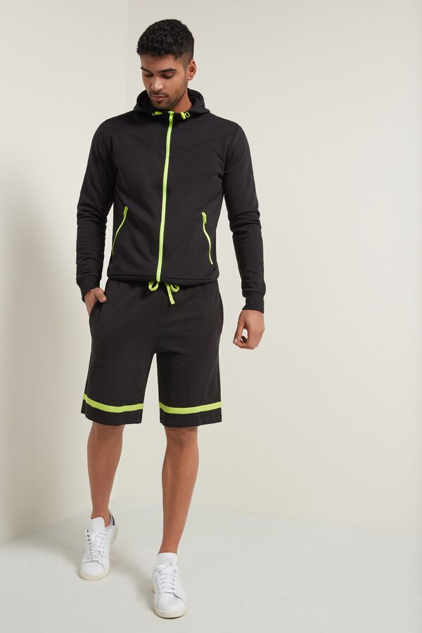 Fleece Shorts with Band