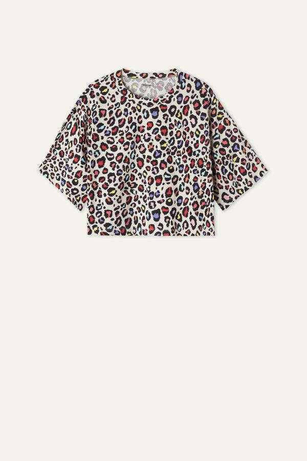 Short Sleeve, Drop Shoulder Cotton T-Shirt