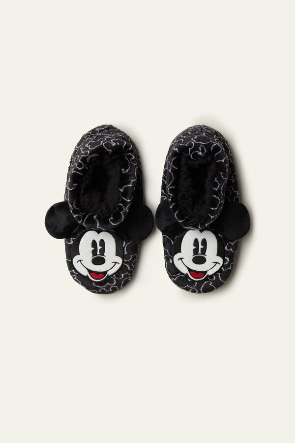 Mickey Mouse Bootie Slippers