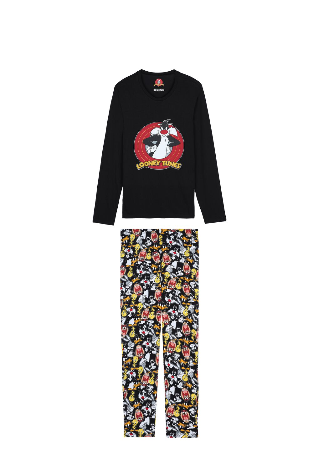 Men's Looney Tunes Long Pyjama