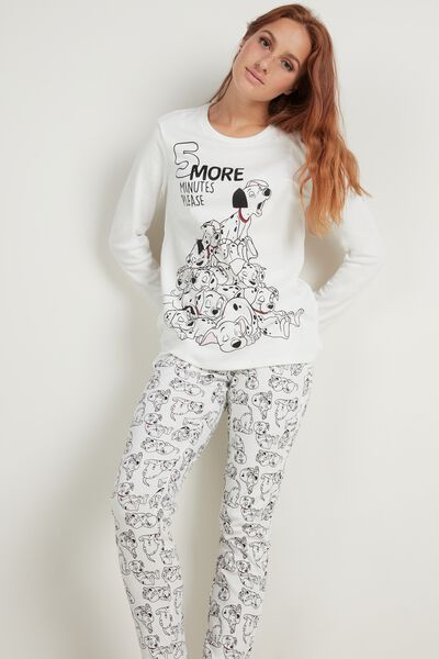 Long Cotton Disney 101 Dalmatians Pajamas