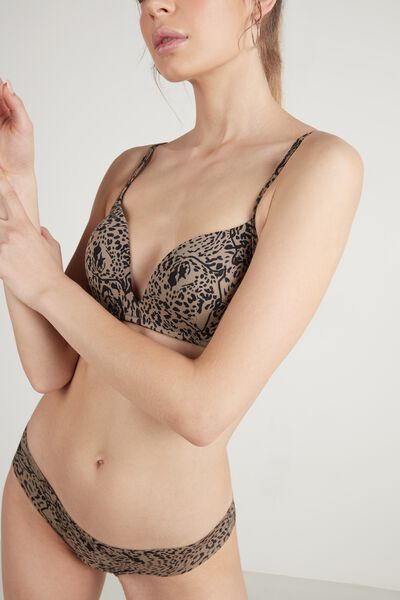 Reggiseno London in Cotone Stampato
