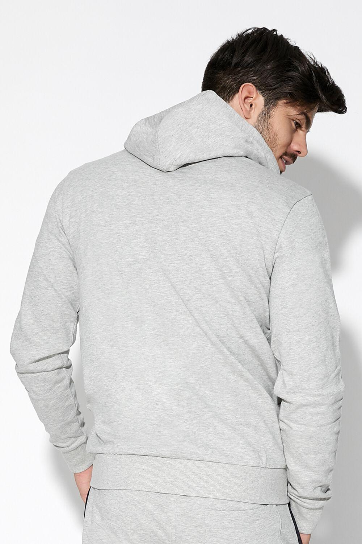 Basic-Sweatshirt mit Kapuze