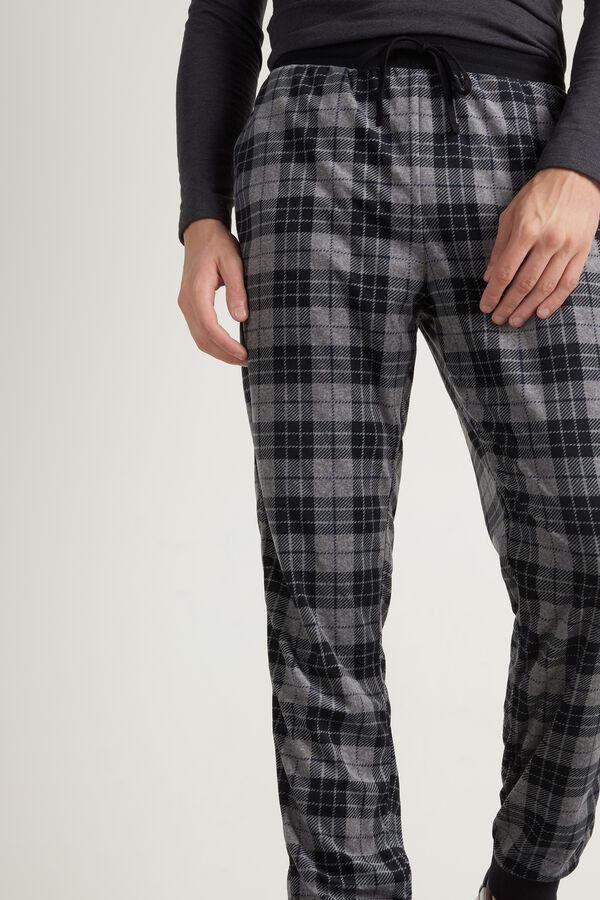 Dlouhé Mikroflísové Kalhoty