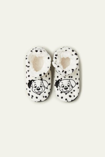 Disney 101 Dalmatians Fleece Slipper Boots