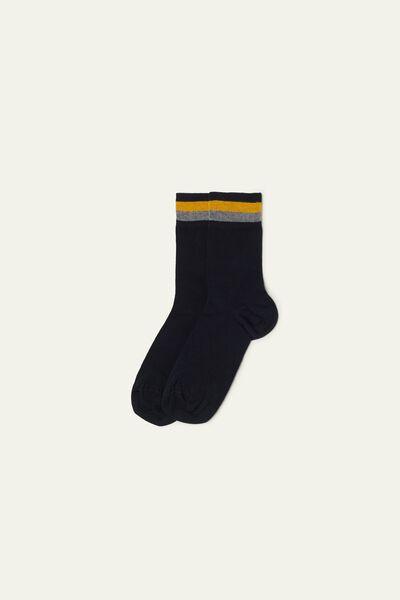 Socquettes Courtes en Coton Fantaisie