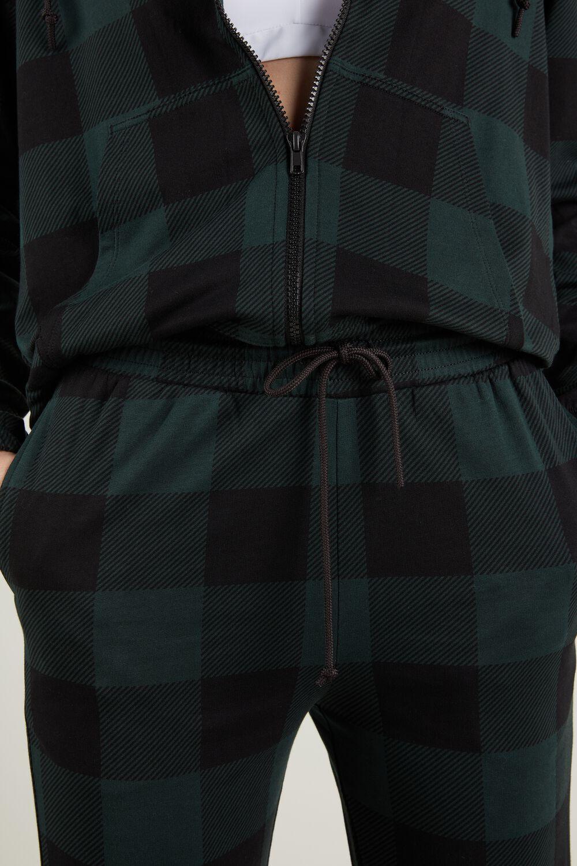 Jogging Pants with Welt Pocket