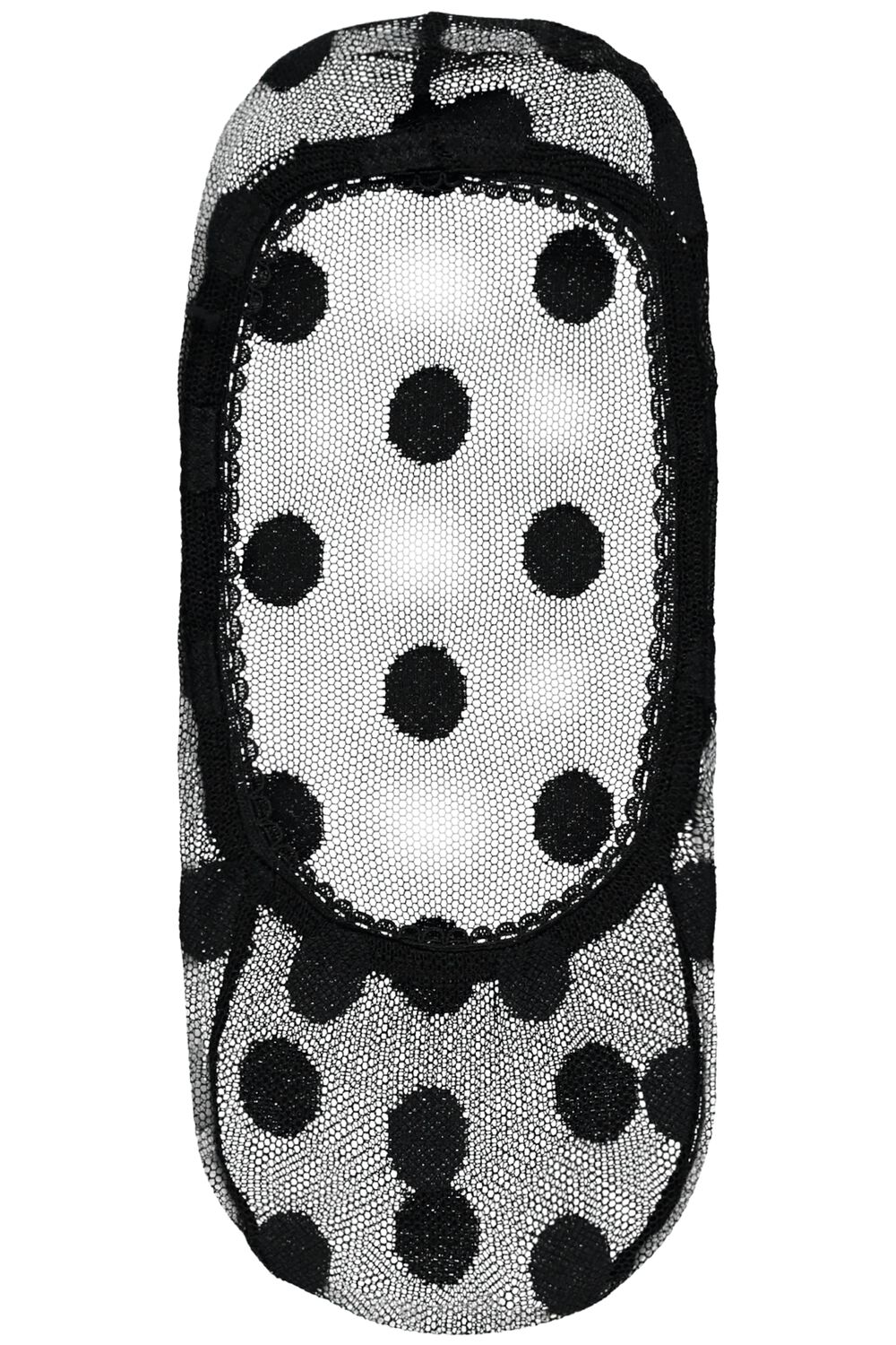 All Over Lace Footlet Socks