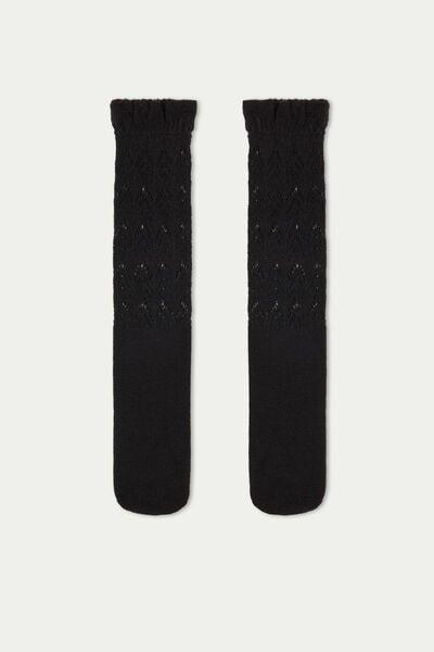 Chaussettes Hautes Épaisses Fantaisie