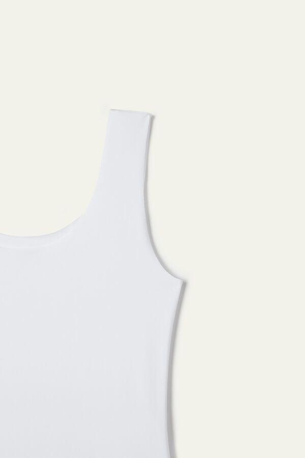 Raw-Cut Cotton Camisole