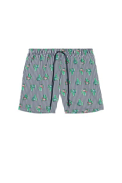 Printed Swimming Shorts