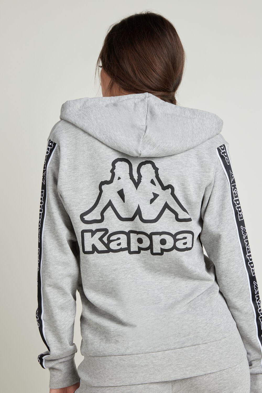 Felpa Cotone con Cappuccio Kappa