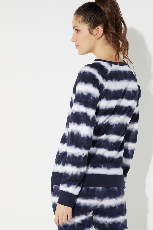 Round-Neck Sweatshirt Raglan Long Sleeve