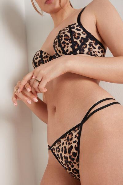 Leopard Print G-String