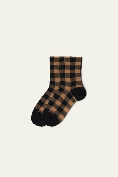 Fancy Cotton Crew Socks