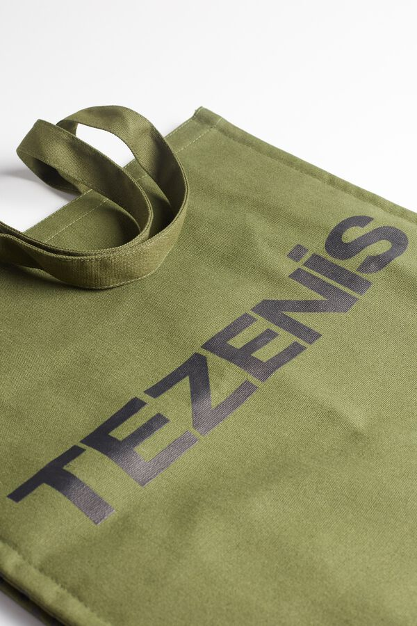 Recycled Cotton Beach Bag with Logo